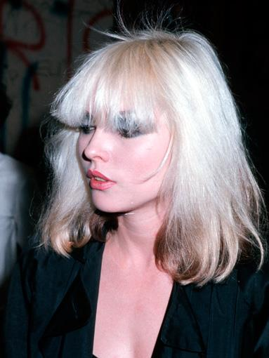 With her two-toned bleach-blonde hair, Deborah Harry became the definitive icon of punk rock style as the frontwoman of Blondie