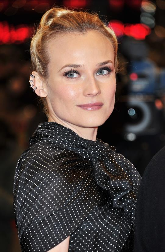 <u><b>In your 30s...</b></u><br> Dianne Kruger, 36, Actor<br> Embracing the current punk trend Dianne works the hottest jewellery statement right now – fierce ear piercing (and lots of it).