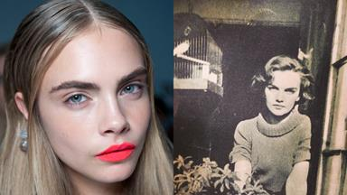 The secret behind Cara Delevingne's eyebrows