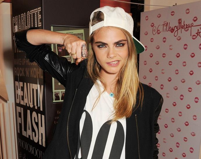 Will Delevingne get more tattoos? Watch this space.