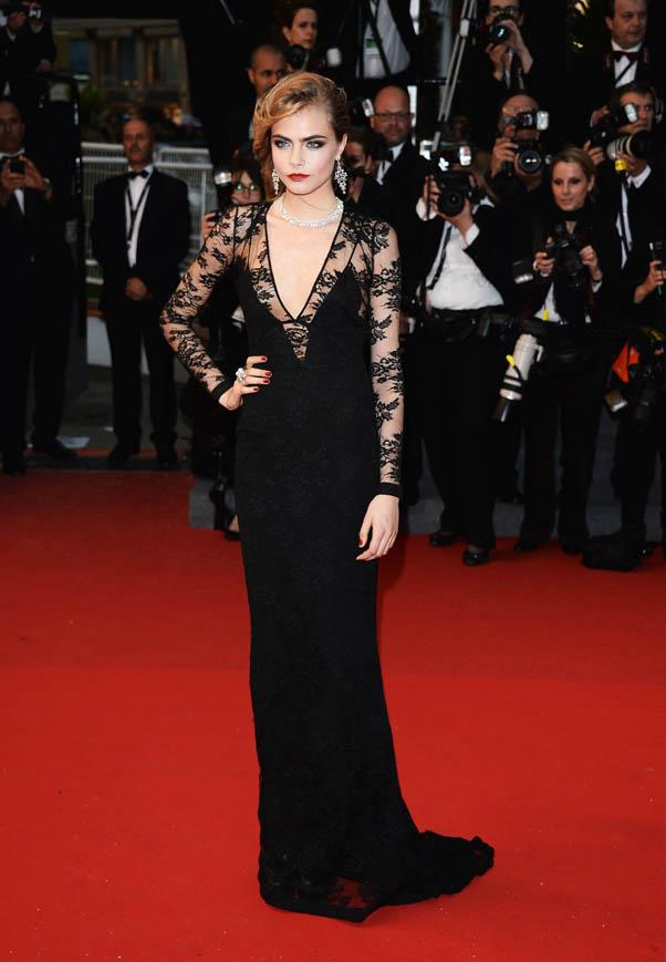 In Burberry at the Opening Ceremony and premiere of 'The Great Gatsby' during the 66th Annual Cannes Film Festival on May 15, 2013.