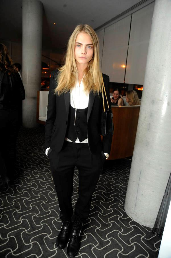 At the Stefano Tonchi Celebrates W Magazine's Modern Beauty Issue on April 18, 2013 in New York.