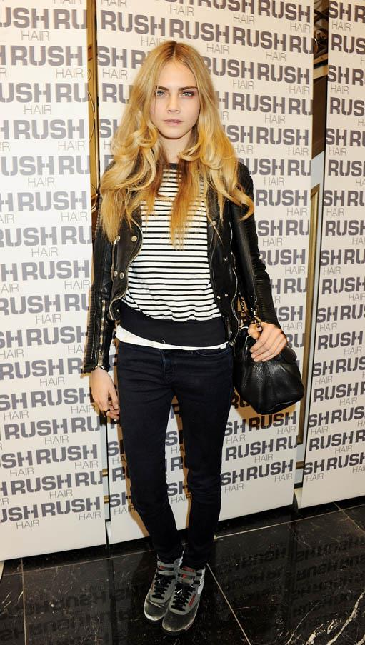 At a launch party for 'The House Of Rush' beauty sanctuary in London on November 10, 2011.