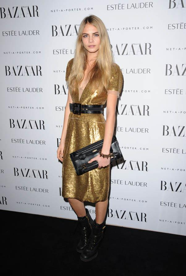 In Burberry at the Harper's Bazaar Women Of the Year Awards 2011 at Claridges Hotel, London on November 7, 2011.
