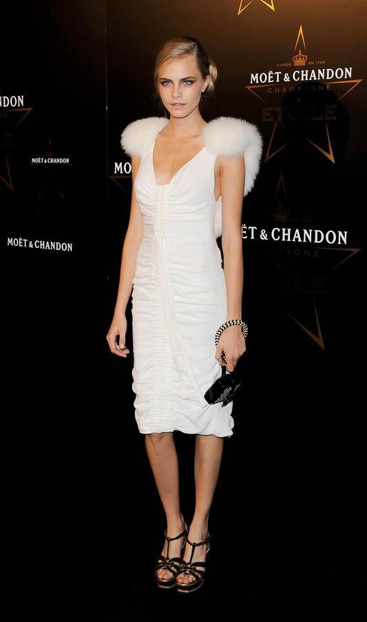 At the Moet & Chandon Etoile Award at the Park Lane Hotel, London on September 19, 2011.