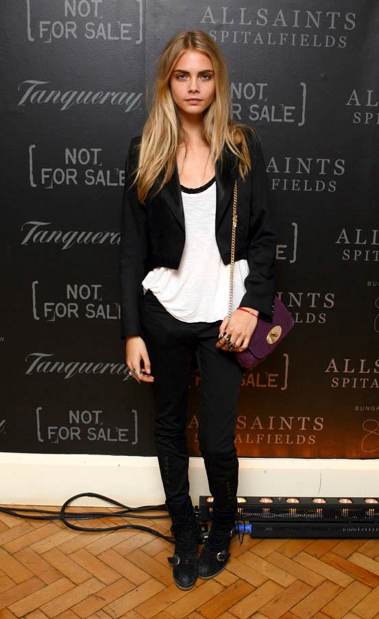 At the AllSaints 'Not For Sale' Launch Party at One Marylebone, London on September 17, 2011.