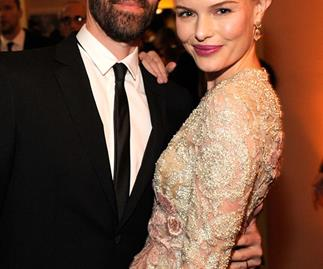 Kate Bosworth and Michael Polish at the 2013 Vanity Fair Oscars Party.