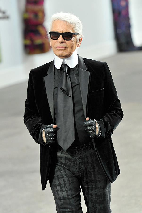 """<strong>Lagerfeld's version of social commentary</strong> <br><br>""""The hole in social security, it's also [because of] all the diseases caught by people who are too fat."""""""