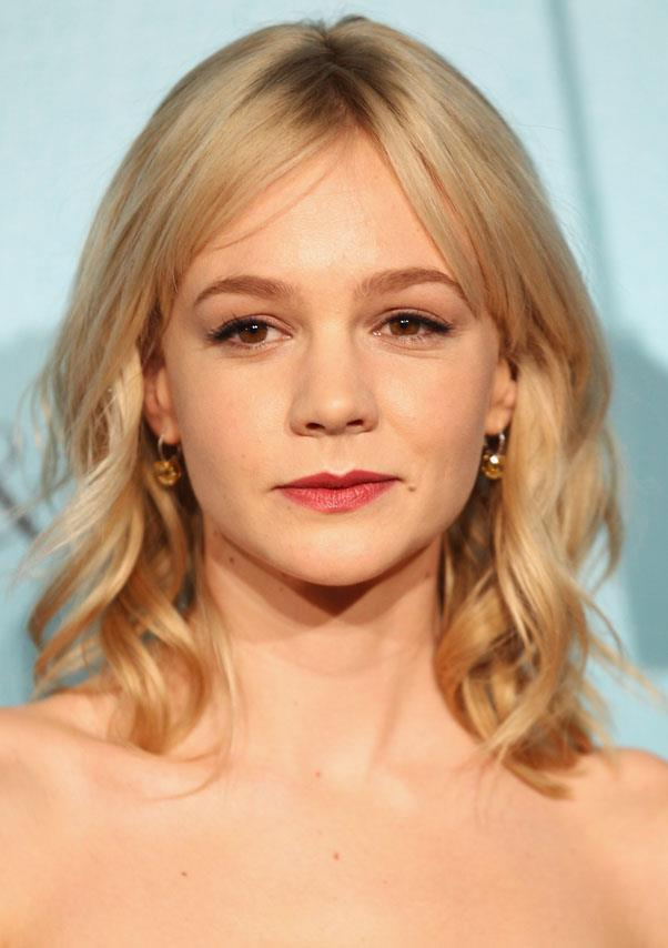 <strong>Carey Mulligan</strong> <br>Mulligan has been sporting an ice-blonde hue since she first chopped her hair into a pixie in 2008.