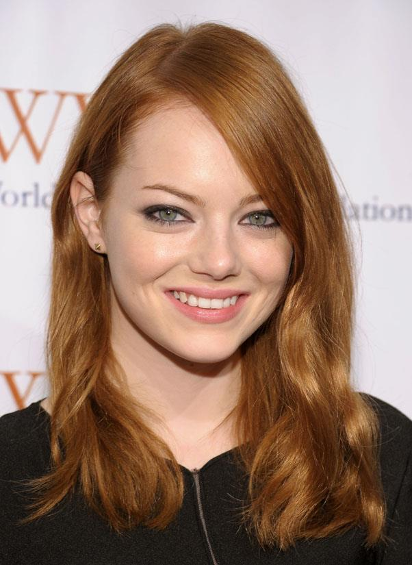 <strong>Emma Stone</strong> <br>We first fell in love with Stone as a smart-talking redhead in Easy A.
