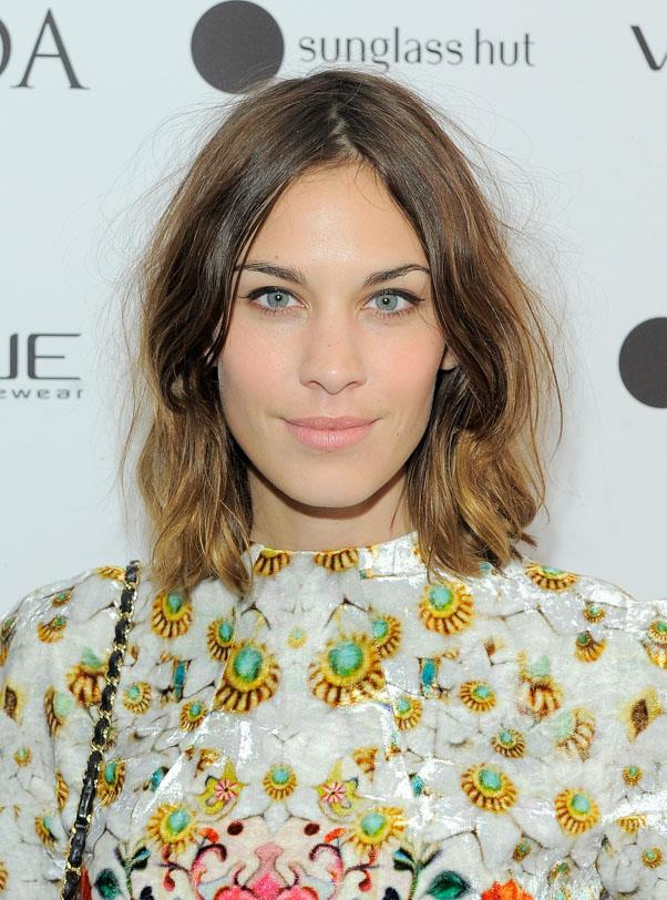 <strong>Alexa Chung</strong> <br>One of the pioneers behind the ombre trend, we've always loved Chung's choppy highlights...