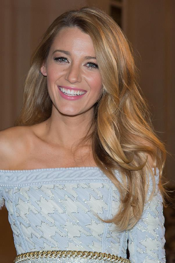 <strong>Blake Lively</strong> <br>But her long, honey-highlighted hair will always be her best look.