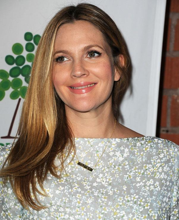 <strong>Drew Barrymore</strong> <br>But her latest softly balayaged hair is her best look yet.