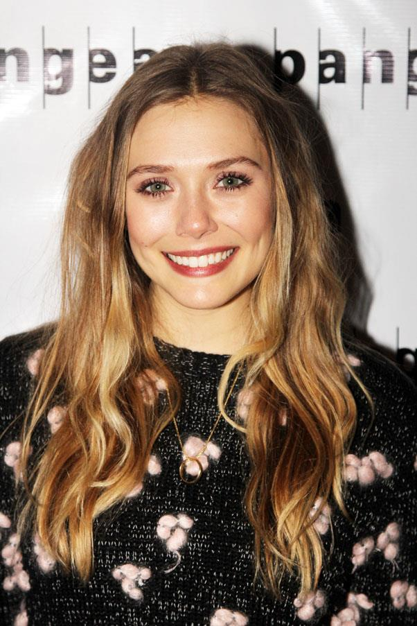 <strong>Elizabeth Olsen</strong> <br>But her long locks are ideal for a warm balayage.