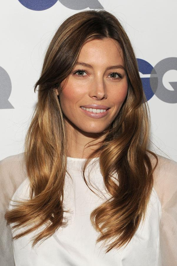 <strong>Jessica Biel</strong> <br>But this lovely caramel shade is our favourite hue on the actress.