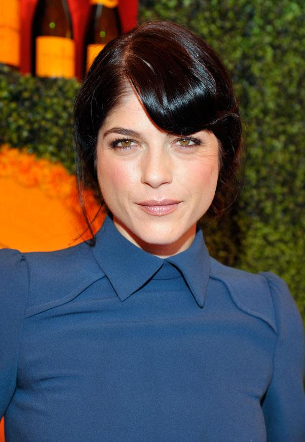 <strong>Selma Blair</strong> <br>We've always known Blair as a deep chocolate brunette...