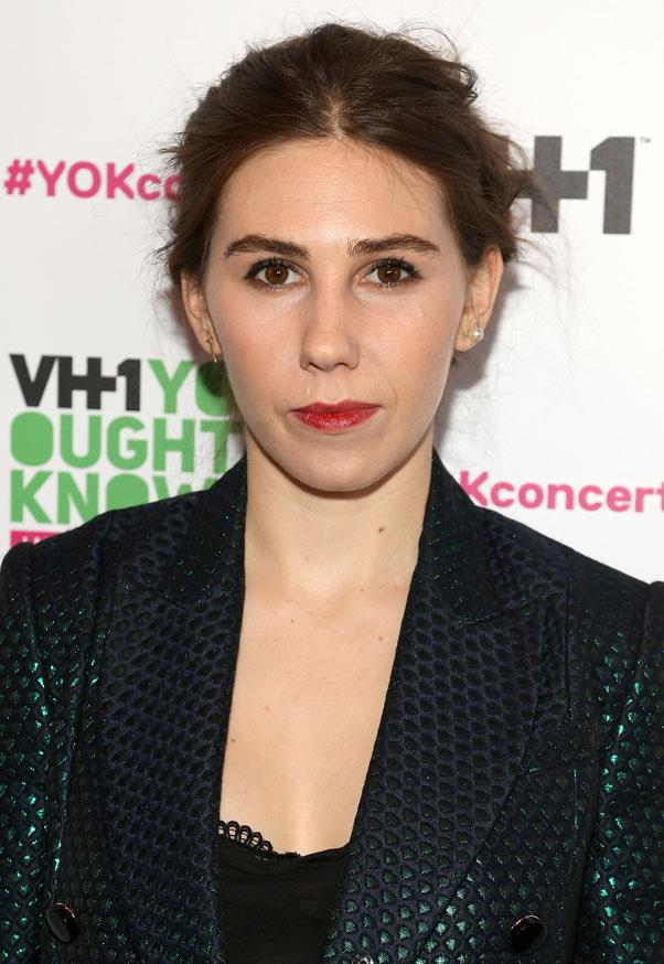 <strong>Zosia Mamet</strong> <br>But the natural brunette hue she's since returned to works just as well.