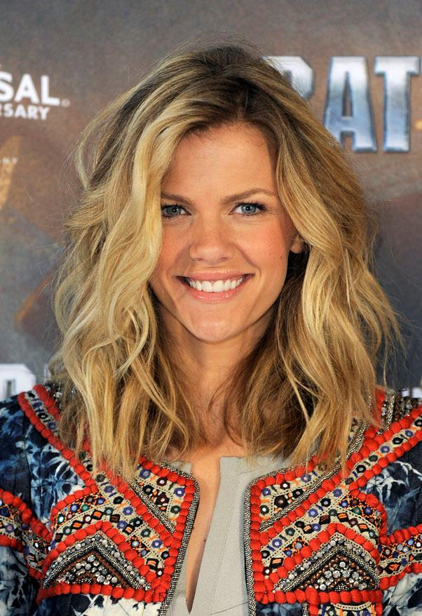 <strong>Brooklyn Decker</strong> <br>A collarbone skimming length is a great way to test out a shorter length - and if you decide to go even further, it won't be such a dramatic change.