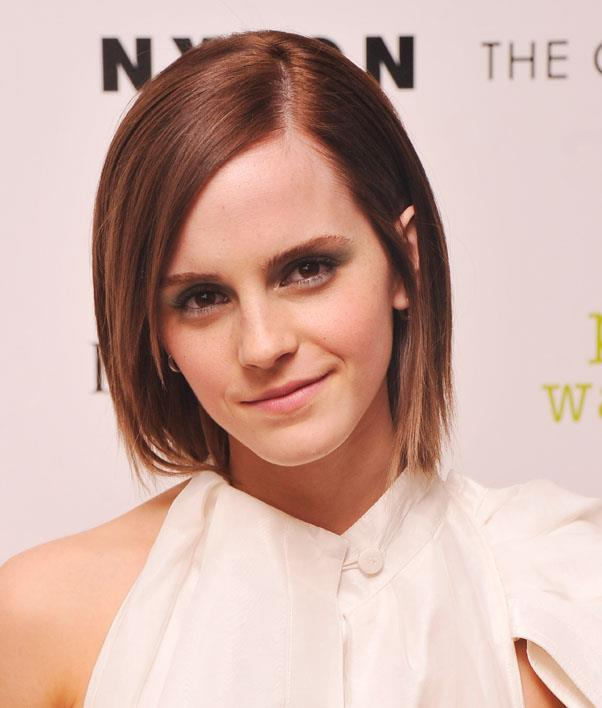 <strong>Emma Watson</strong> <br>Watson's layered cut is the perfect example of how to grow out a pixie cut, and look good doing it.