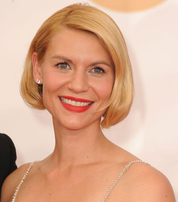 <strong>Claire Danes</strong> <br>Not ready to take the plunge? Try pinning your hair up into a faux bob, like Danes at the 2013 Emmy Awards.