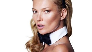 Kate Moss' Playboy issue lands today