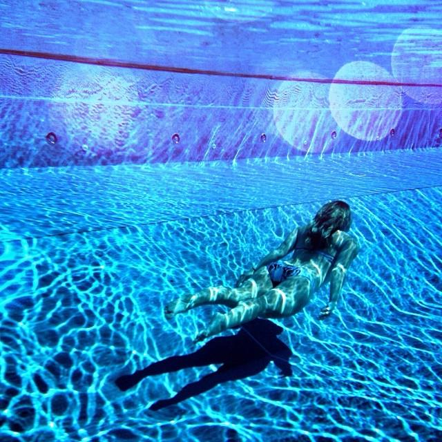 "Underwater: Get a good waterproof case and in clear water with lots of light you'll love the results. I use the <a href=""http://www.watershot.com/underwater-camera-housing-iphone"">Watershot iPhone</a> housing - it's what surf photographers use."