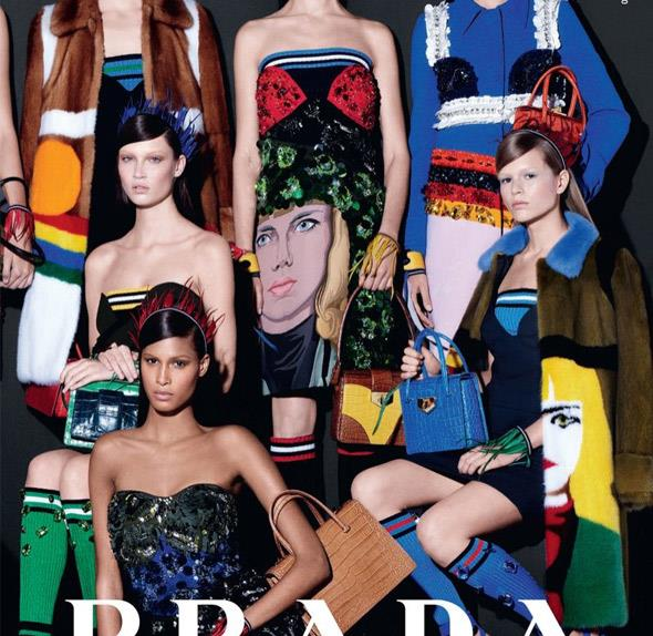 Prada spring summer 2014 campaign