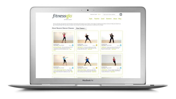 "<a href=""http://www.fitnessglo.com/"">Fitness Glo</a> Designed as an alternative, simplified option to the often fast-paced group classes in the gym, Fitness Glo covers everything from yoga and pilates to cardio workouts - but its dance cardio programs are particularly popular. <br>Fitness Glo offer free 15 day trials, customised 8-week program as well as individual classes, which vary from 5 to 45 minute workouts."