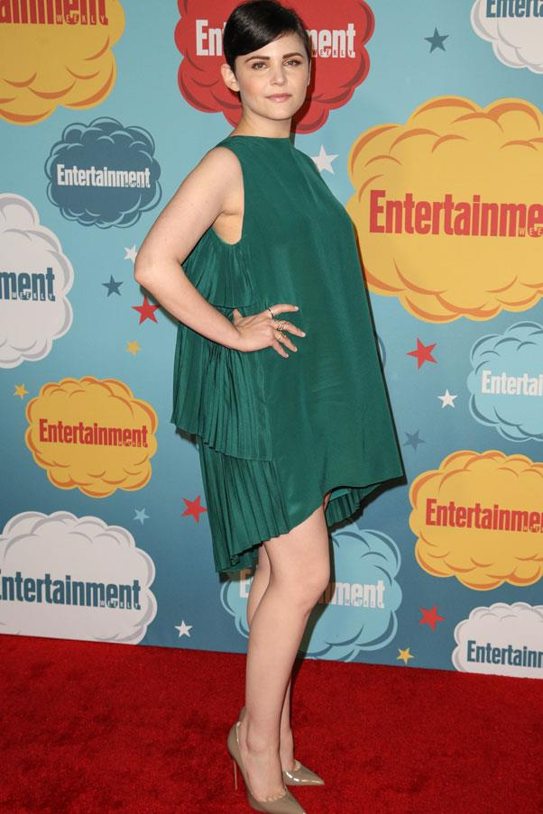 <strong>Ginnifer Goodwin</strong> <br>The actress's shorter silhouette keeps the dress from swamping her.