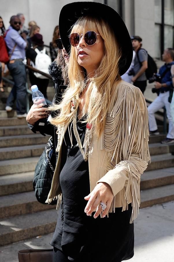 <strong>Rachel Zoe</strong> <br>A bohomian aesthetic like Zoe's paid off big time during her two pregnancies, with the stylist able to utilise much of her loose, free-flowing attire throughout.