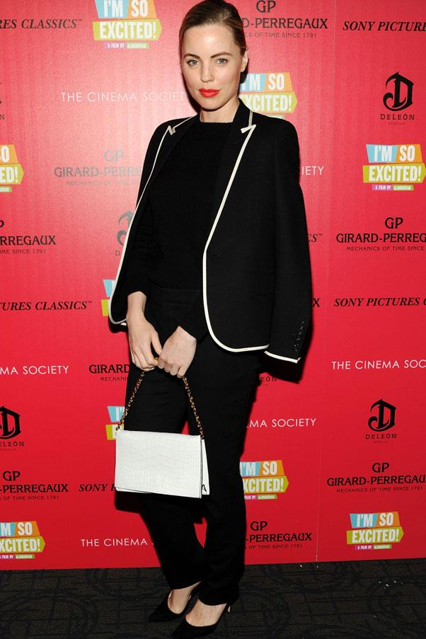<strong>Melissa George</strong> <br>We love the Aussie actress's streamlined look - and you can't go past the slimming effects of an all-black outfit!
