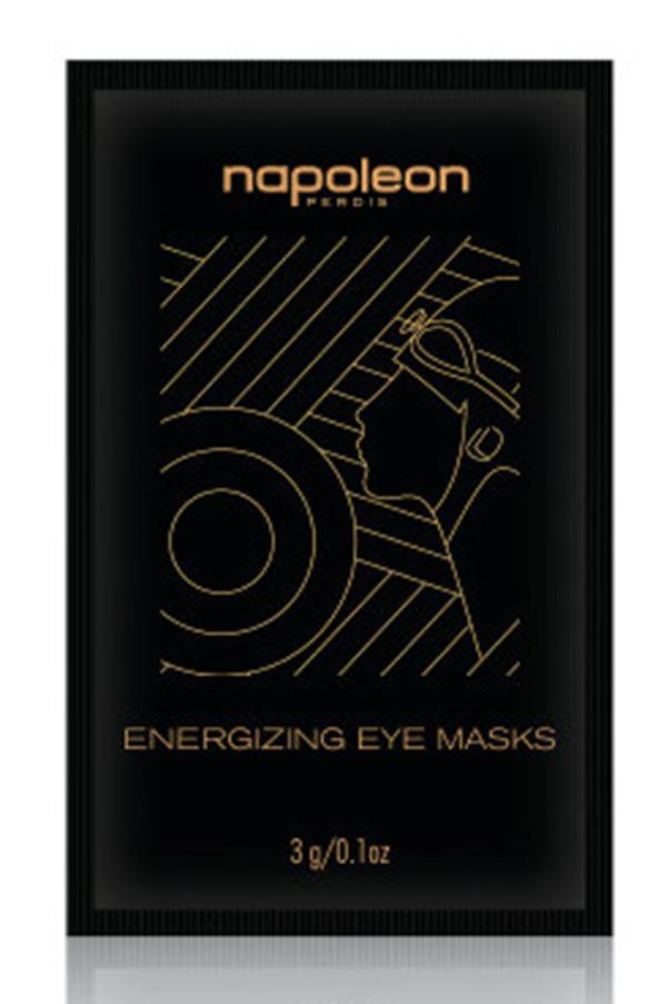 """<strong><a href=""""http://napoleonperdis.com/aus/makeup/face/auto-pilot/energizing-eye-masks-single.html"""">Napoleon Perdis Energizing Eye Mask</a>- $15 </strong> <br>This refreshing eye mask will hydrate and revitalise tired under eye areas – perfect after late nights and long days at the beach."""