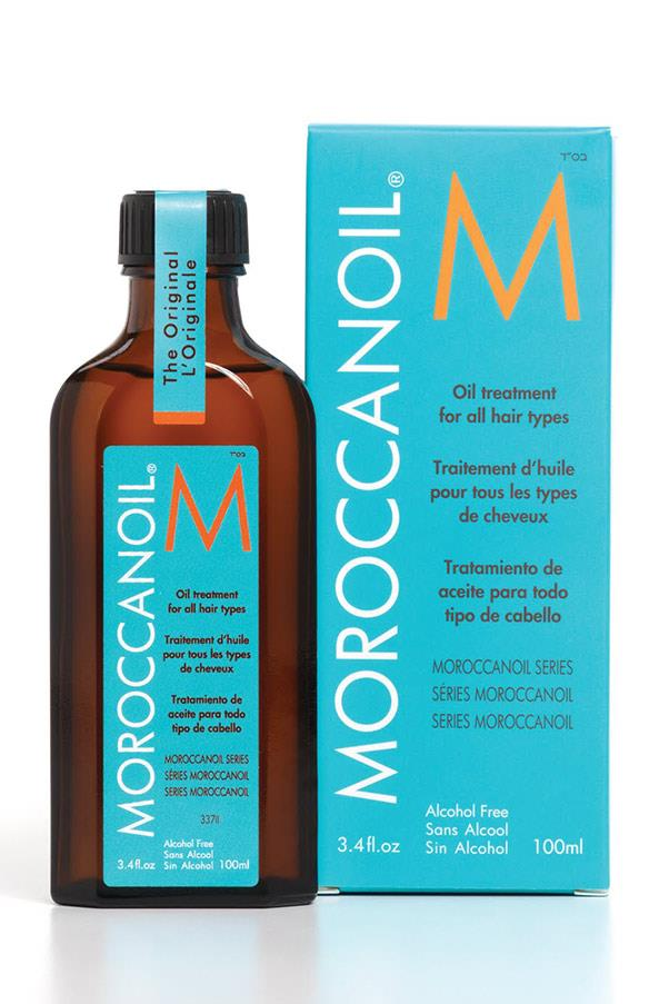 """<strong><a href=""""http://www.adorebeauty.com.au/moroccanoil/moroccanoil-original-oil-treatment.html"""">Moroccanoil Treatment</a> - $49.50</strong> <br>Slick your hair back into a sleek pony tail or bun after a day at the beach with this nourishing oil. Also great for taming the frizzy ends of salty hair."""