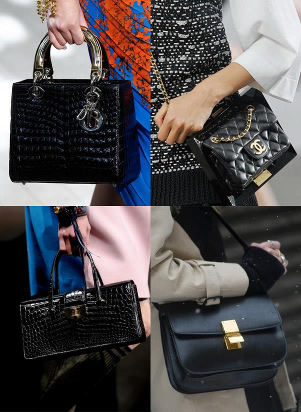 <strong>A black investment bag </strong><br> Fact: spending time and money on finding the perfect black designer handbag is one of life's greatest pleasures. Consider this as the fashion you'll leave in your will and will be passed down for generations to come.<br> <i>Image: Dior, Chanel, Céline, Prada</i>