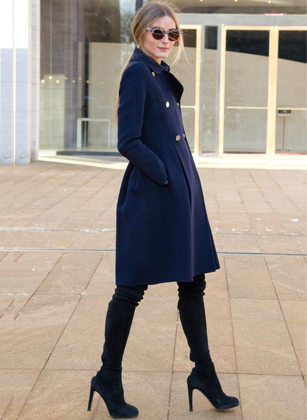<strong>High heel booties</strong><br> Whether they're cut to the ankle, above the knee or heading up towards the thigh, a pair of high-heel boots are a must have for your autumn/winter wardrobe. For an on-trend style opt for a pointy toe or if you're after a classic shop a round-toe. <br> <i>A-lister: Olivia Palermo</i>