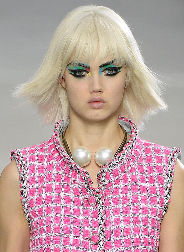 <strong>Oversized pearls </strong><br> Flash your pearly whites. When it comes to pearls – on necklaces, earrings, rings, you name it – the bigger the better. <br> <i>Image: Chanel S/S 14</i>