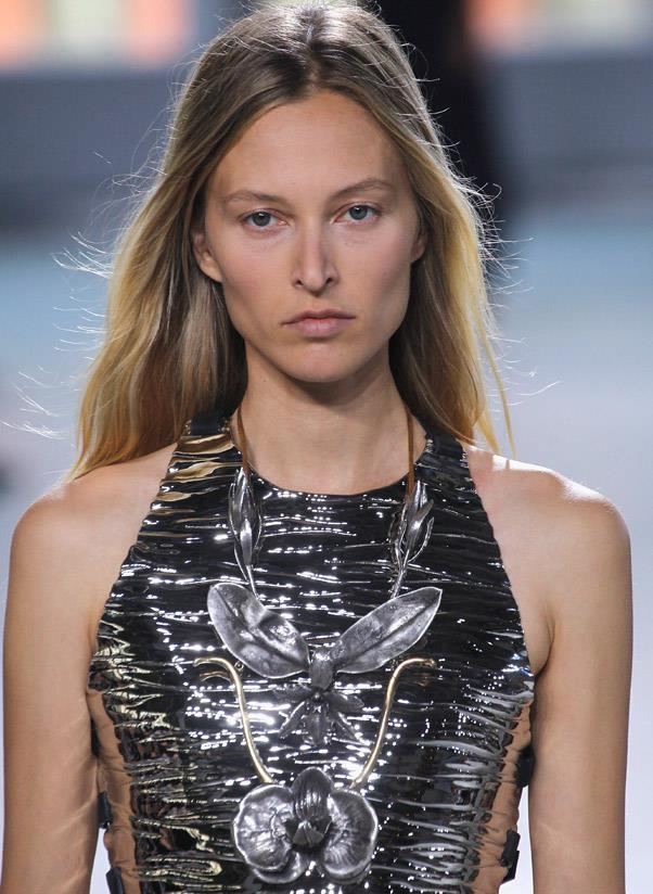 <strong>Garden garnish</strong><br> Insects, beetles, snakes, butterflies, leaves, vines and flowers make for a wild jewellery statement this year. <br> <i>Image: Proenza Schouler S/S 14</i>