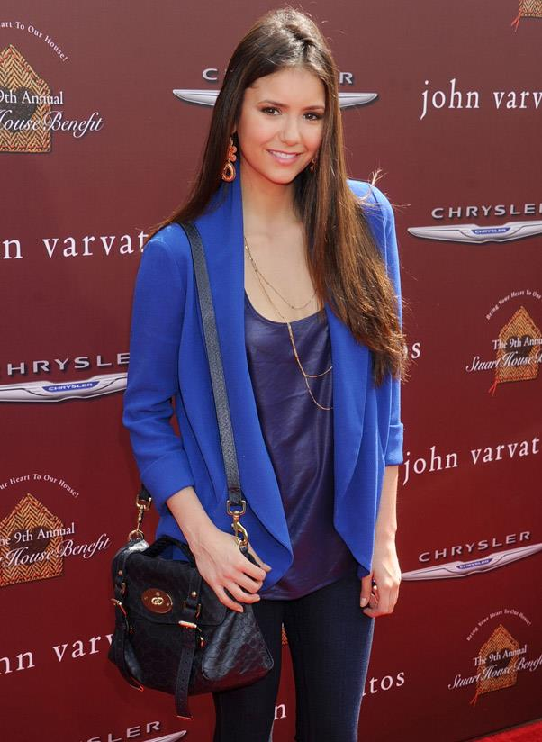 <b>Mulberry Alexa</b> <br> At the height of Brit-It-girl-dom in 2009 came the greatest form of flattery for one lucky lady: Mulberry designed and named one of its bags after Alexa Chung.<br> <i>Nina Dobrev (2012)</i>
