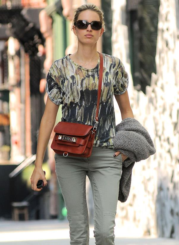 <strong>Proenza Schouler PS11</strong><br> The PS11 was sent down the runway for autumn/winter 2010-2011 and is a certified street-style star. <br> <i>Karolína Kurková (2012)</i>