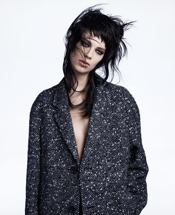 <strong>Lexi Boling</strong> in<em> Saint Laurent by Hedi Slimane</em> coat.