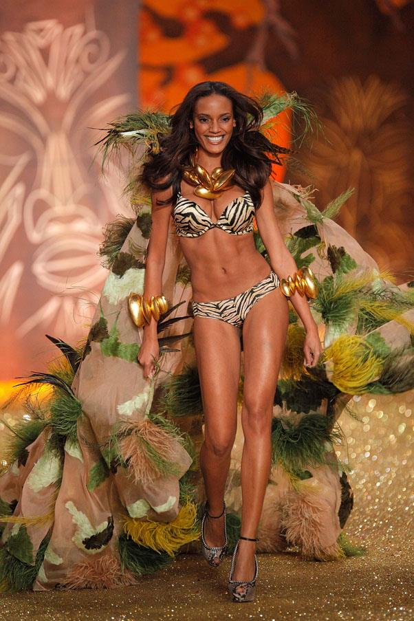 <strong>RETIRED ANGELS</strong> <br>Cayman-born model Selita Ebanks worked as an Angel from 2005 to 2008, but has continued to walk for the brand. In 2007, Ebanks was selected to wear the Victoria's Secret 'Fantasy Bra' - one of only 11 Angels to have ever been awarded the honour. <br><em>Selita Ebanks at the Victoria's Secret Fashion Show 2013</em>