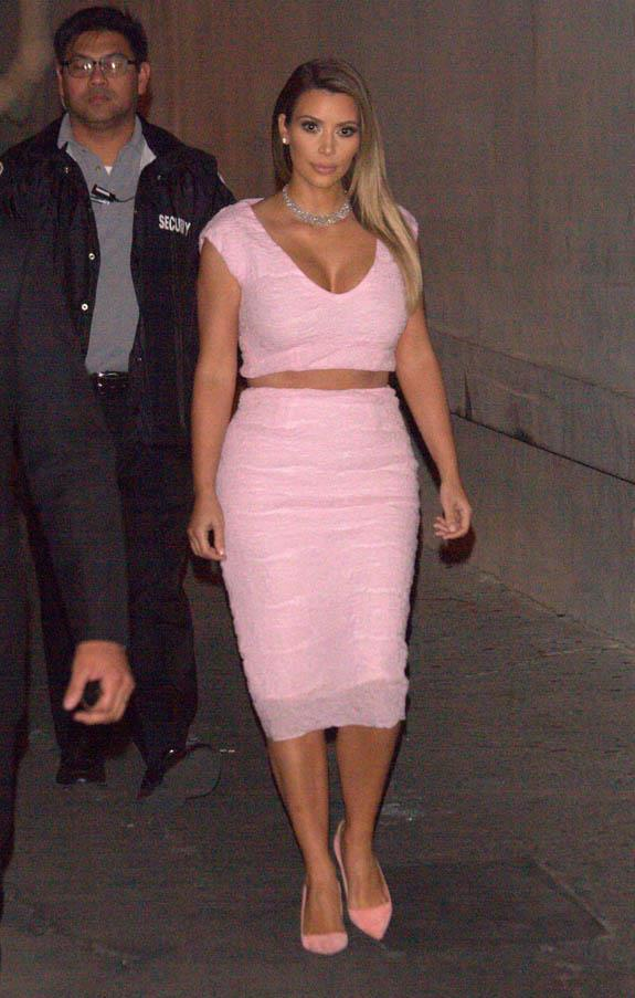 Kardashian had this Christian Dior dress cut into a two-piece - the equivalent of fashion blasphemy, but admittedly her curves look great.