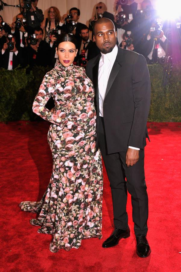 Kardashian's Givenchy floral dress at the Met Gala 2013 caused a media storm (and sparked a thousand couch-related memes). We are big fans of the print, but we admit the heavily-pregnant Kim looks a little swamped by the covered-up outfit.