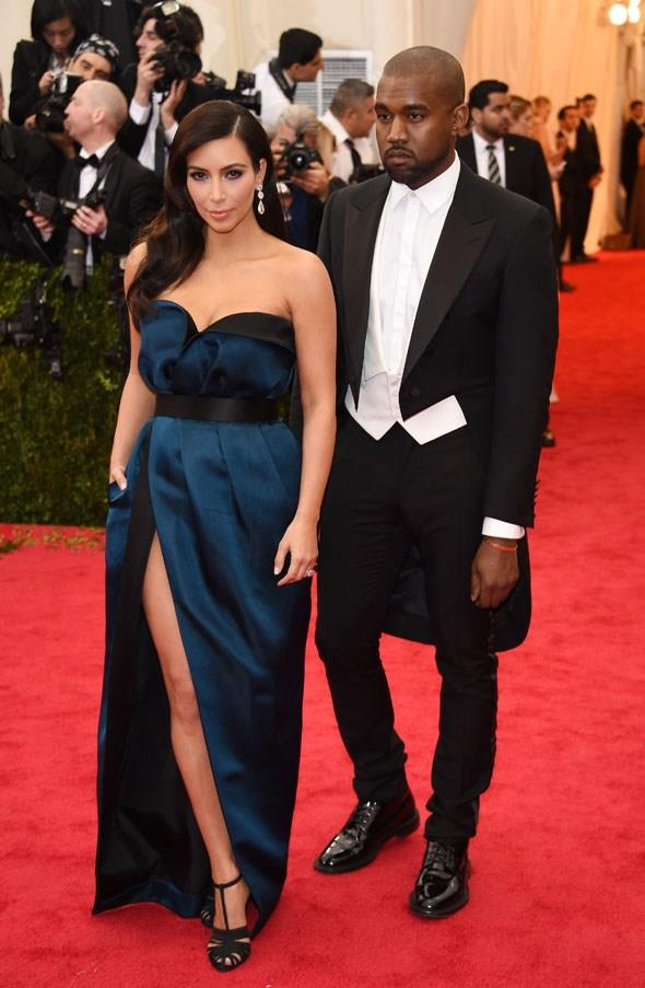 Kardashian looked beautiful in Lanvin at the Met Gala 2014 on May 5.