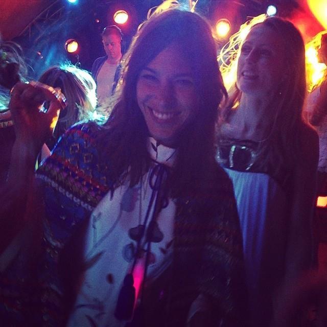 """Alexa Chung attended the festivities.  <br> <a href=""""http://instagram.com/peter_dundas"""">@peter_dundas</a>"""