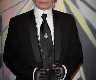 Karl lagerfeld collaborates with Louis Vuitton
