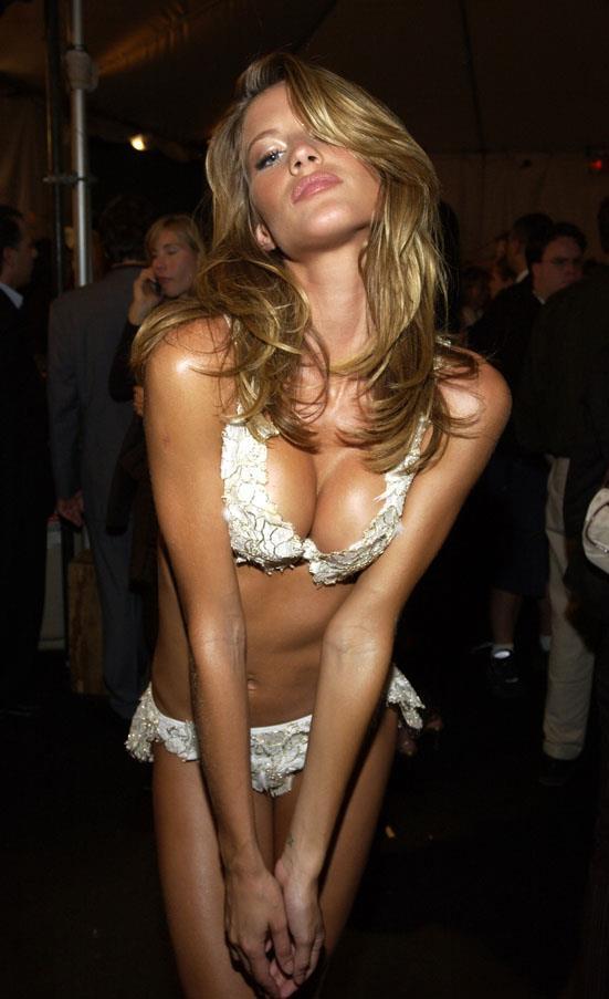 At the Victoria's Secret fashion show in 2002.