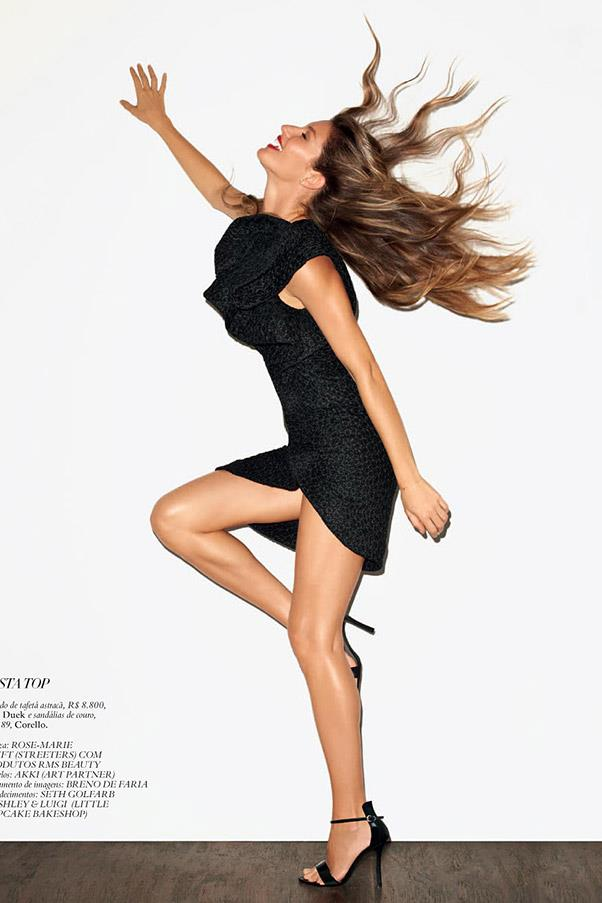 Photographed by Terry Richardson for Harper's BAZAAR Brazil's December 2012 issue.