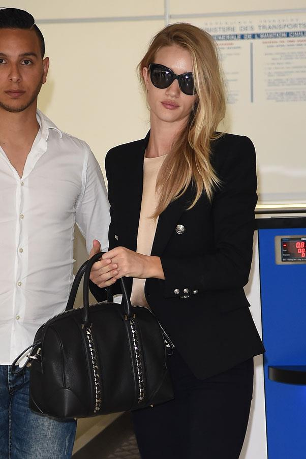 <strong>Black blazer</strong> <br>This perennial classic sharpens up any look. Invest in a high-quality version with a well-tailored cut and it will forever be one of the most versatile pieces in your closet. <br><em>Rosie Huntington-Whiteley</em>
