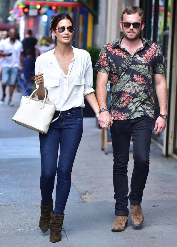 <strong>A white blouse</strong> <br>A perennial favourite for a host of reasons - flattering, versatile and ultra-chic. <br><em>Lily Aldridge</em>